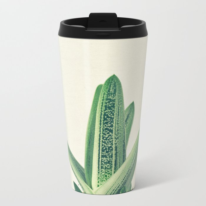 Cactus III Metal Travel Mug