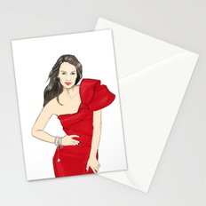Girl in style Stationery Cards