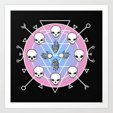 Cycle of Afterlife II Art Print