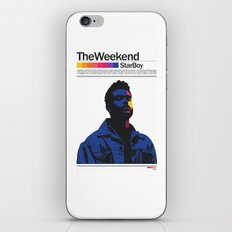 TheWeeknd iPhone Skin