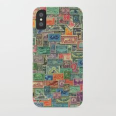 World Stamps iPhone X Slim Case
