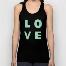 Love Mint Unisex Tank Top