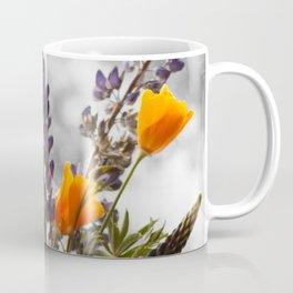 Wildflower Bouquet Photography Print Coffee Mug