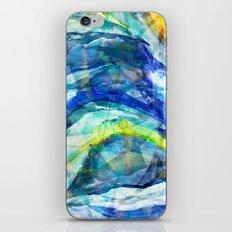 Geometric Wave iPhone & iPod Skin