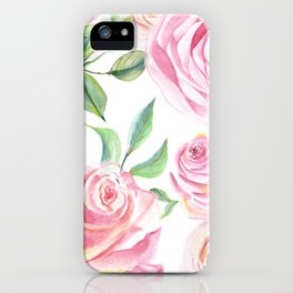 Roses Water Collage iPhone Case