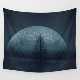 Moon Twilight Wall Tapestry