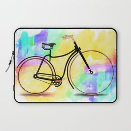 Pedal-driven beauty Laptop Sleeve