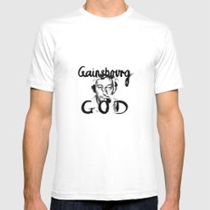 Gainsbourg White Mens Fitted Tee MEDIUM