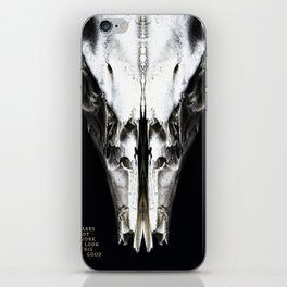 It Takes a Lot of Work to Look this Good. iPhone Skin