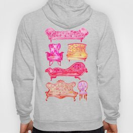 Victorian Lounge – Pink Palette Hoody