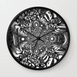 Precisely Abstract Wall Clock