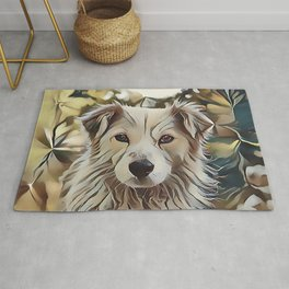 The Catahoula Leopard Dog Rug