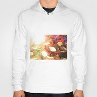 coconut wishes Hoodies featuring COCONUT by Laura James Cook