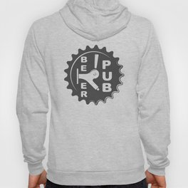 Black Beer Pub Brewery Handcrafted style Fashion Modern Design Print! Hoody