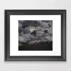 WHELM Framed Art Print