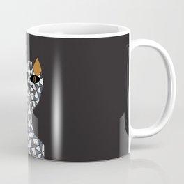 Geo cat Coffee Mug