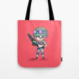 Tank Plush Tote Bag