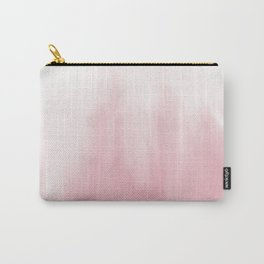 Pink watercolor Carry-All Pouch
