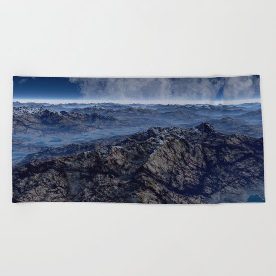 Welcome To Planet X Beach Towel