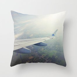High above me Throw Pillow