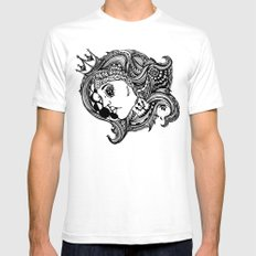 Phases of the Moon, Lady of the Sea Mens Fitted Tee SMALL White