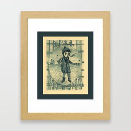 Inverno_Hiver_Winter Framed Art Print