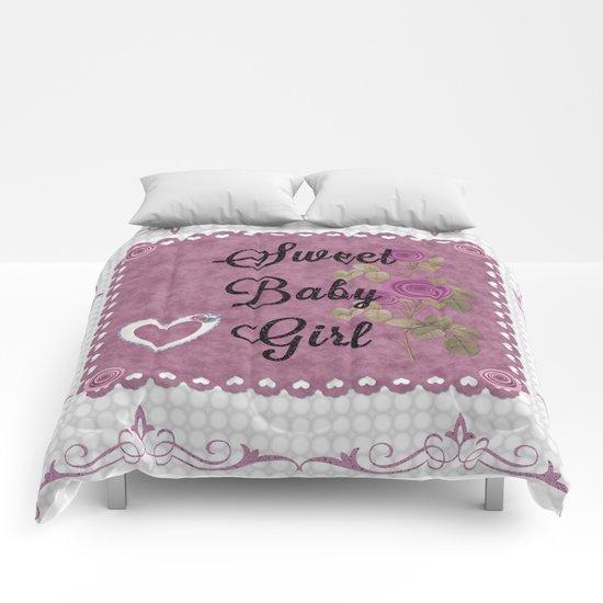 Sweet Baby Girl Comforters