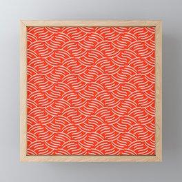 Tartini (Red) Framed Mini Art Print
