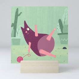 Gato piñulo Mini Art Print