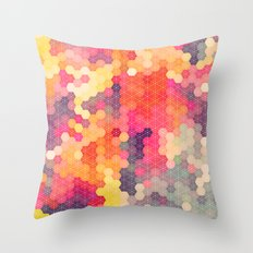 Summer Garden 4 Throw Pillow