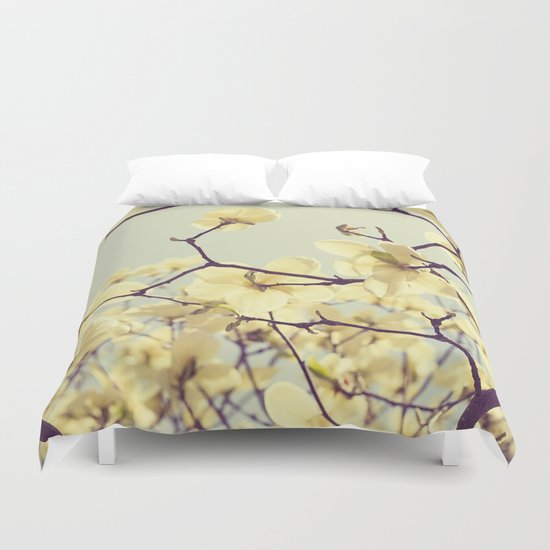 Magnolia Dream Duvet Cover