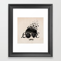 Blind Love Framed Art Print