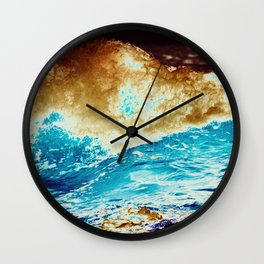 Pacific Acid Wall Clock