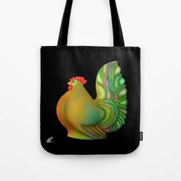 Fat chicken by rafi talby Tote Bag