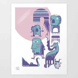 SONNENAUFGANG Art Print