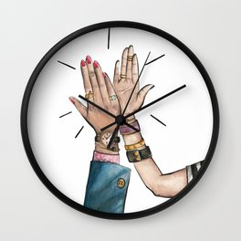 Girl, You're Rad! Wall Clock
