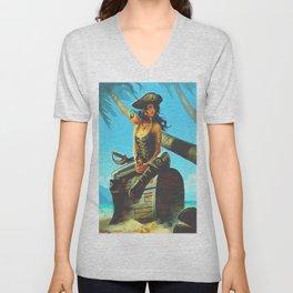 Pirate Unisex V-Neck