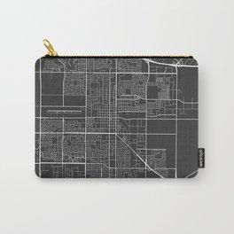 Oxnard Map, USA - Gray Carry-All Pouch
