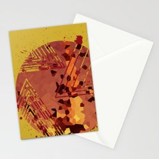 Polygons of a Photograph Stationery Cards