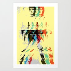 FPJ mello yellow Art Print