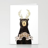 beer Stationery Cards featuring Beer by Cale LeRoy