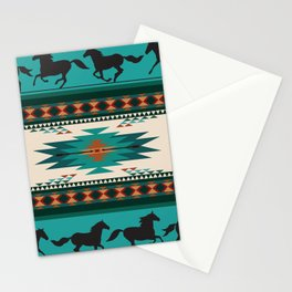 American Native Pattern No. 156 Stationery Cards