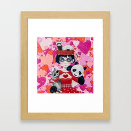 Love Bandits Framed Art Print