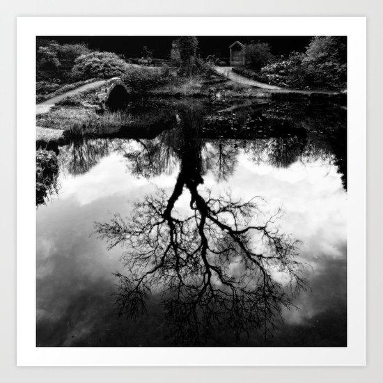 Reflective Art Print