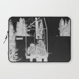 Inverted Ski Lift Laptop Sleeve
