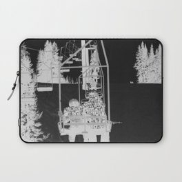 Inverted Ski Lift Laptop Sleeve