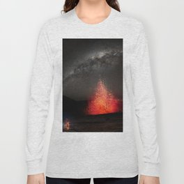 Kilauea Volcano Eruption .3 Long Sleeve T-shirt