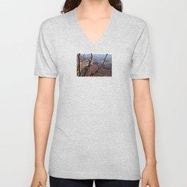 Tree and Canyon Unisex V-Neck