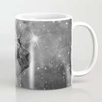 falcon Mugs featuring Millennium Falcon by foreverwars