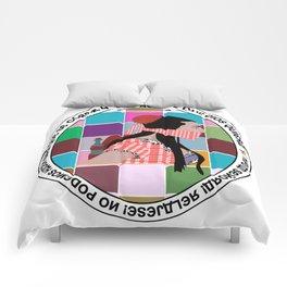 Rossy Amordazada Comforters